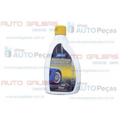 Detergente automotivo (Norclean) Lava autos com cera 500ml - Norton - 66261087584 - Unidade